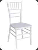 Resin Chiavari Chair, white