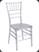 Resin Chiavari Chair, crystal