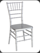 Resin Chiavari Chair, silver